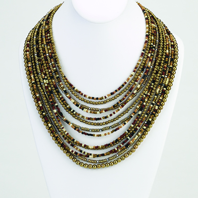 Sage - Beaded Necklace