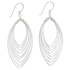 Wire Drop Earring