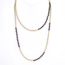 Laura Crystal Layer Necklace