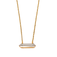 Gold Ruri Crystal Necklace
