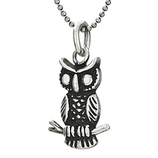 Small Owl Necklace