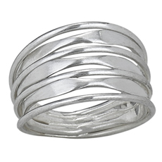 Flat Wire Wrap Ring