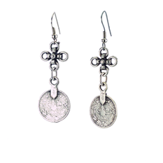 Esra Earrings Silver