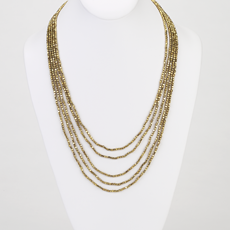 Joni Gold - Beaded Necklace